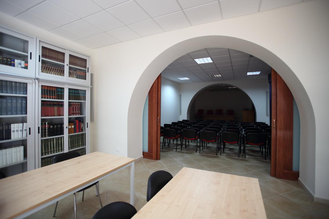 Sala lettura e sala riunioni