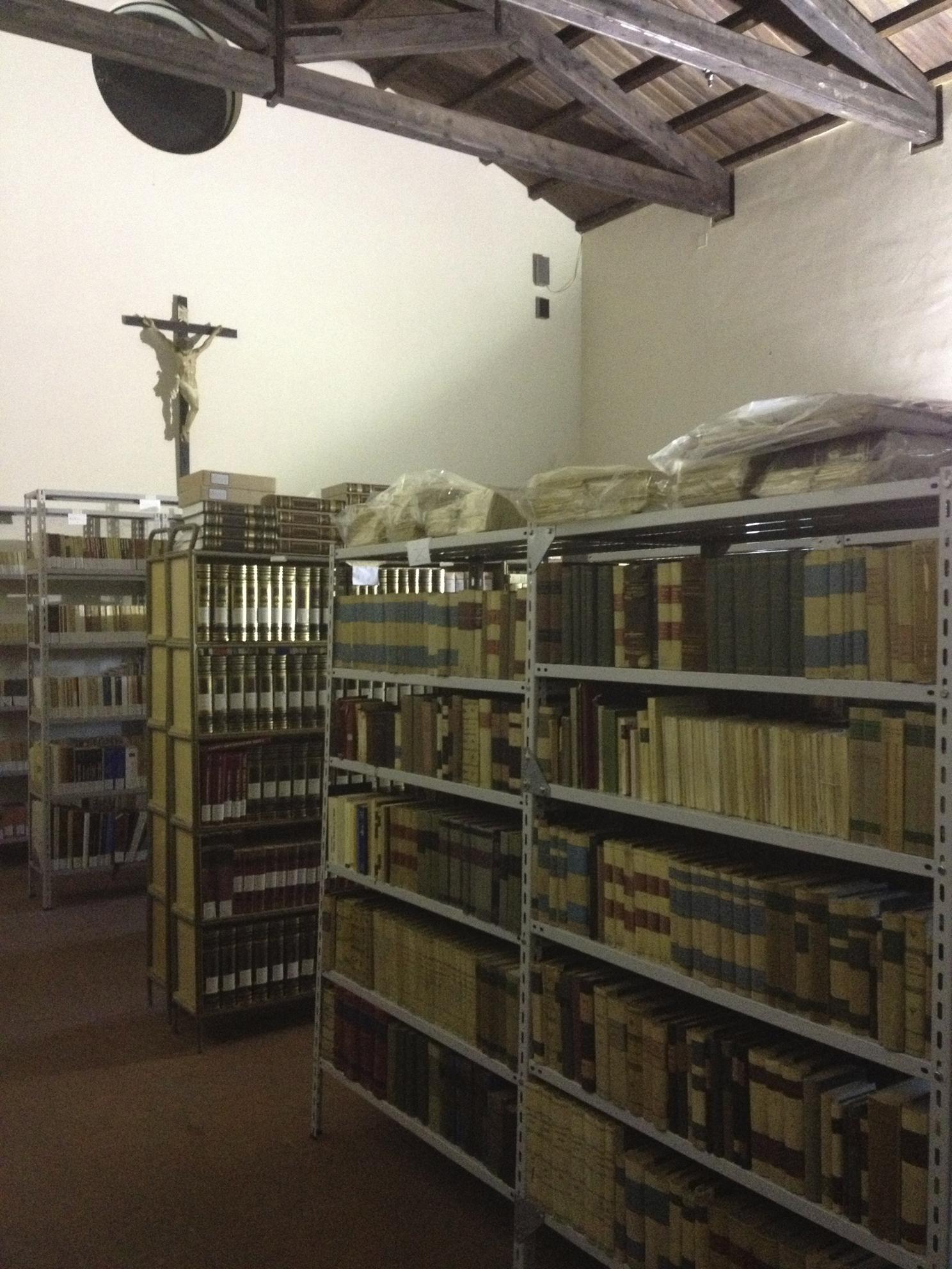 Sala cinquecentesca della Biblioteca