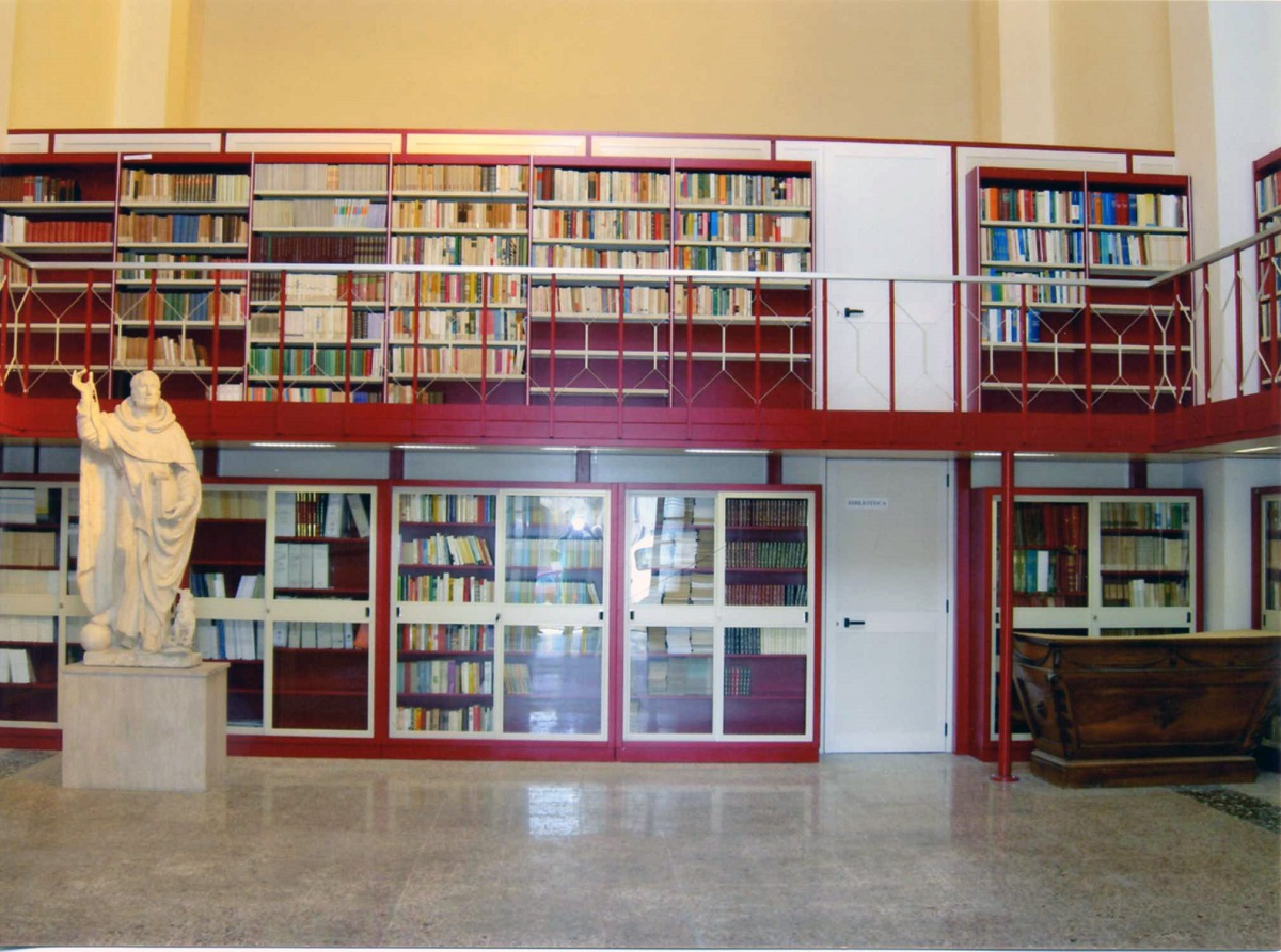 Sala lettura - particolare