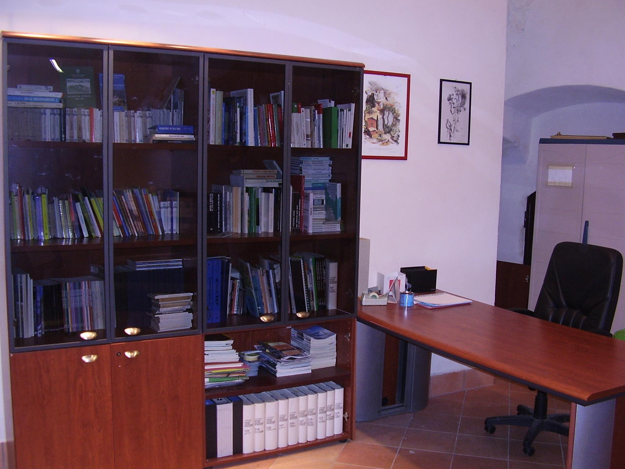 Sala di lettura: accoglienza