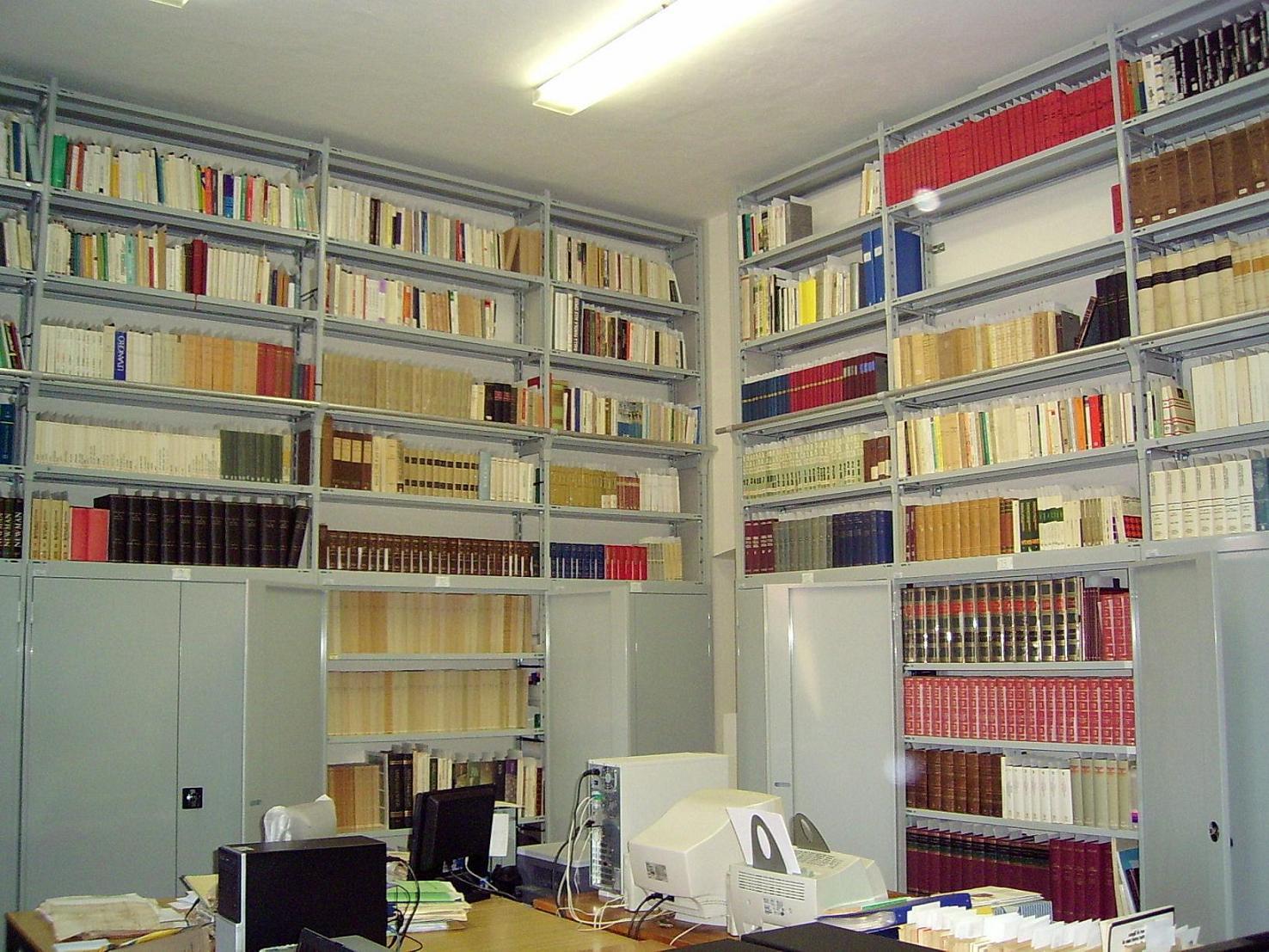 Sala lettura informatizzata