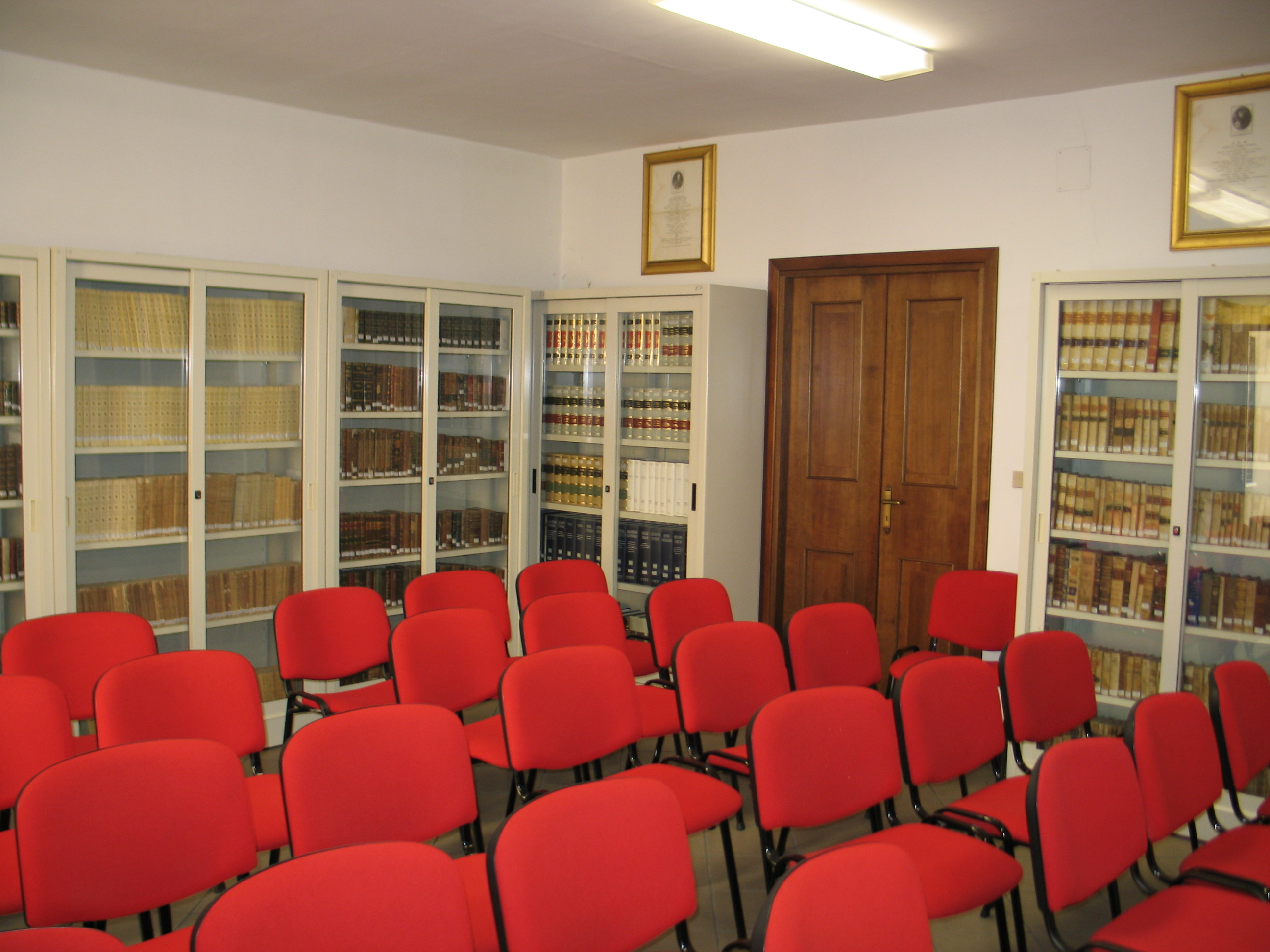 Sala lettura e conferenze