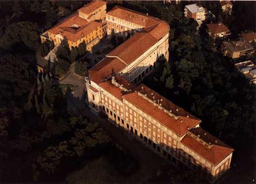 Sede della biblioteca - panoramica