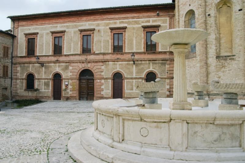 Sede della biblioteca - Facciata